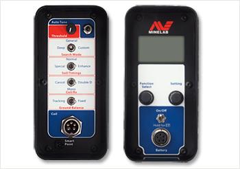 Minelab GPX 5000 Metal Detector Control Panel