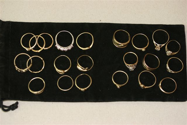 metal detecting rings