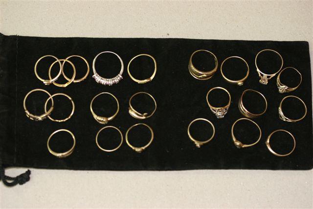 metal detecting rings