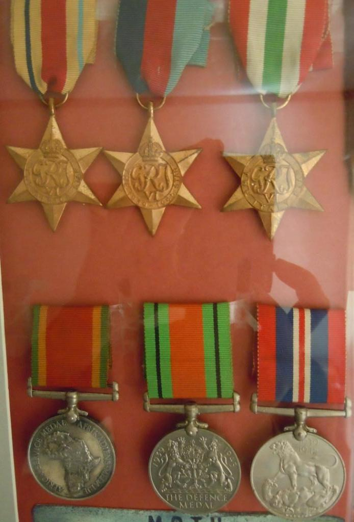 World War 2 medals