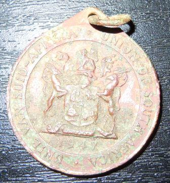 Royal Visit Commemorative Medal (1947)