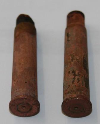 Metal Detecting Bullet Finds