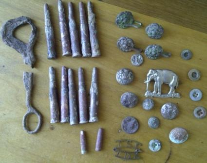 Boer War Metal Detecting