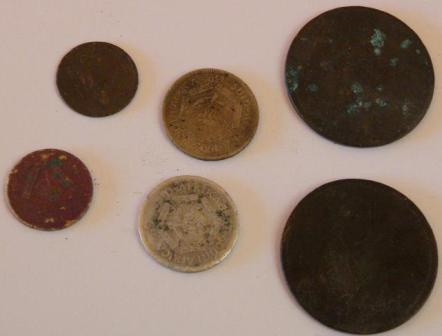 Old coins Metal detecting