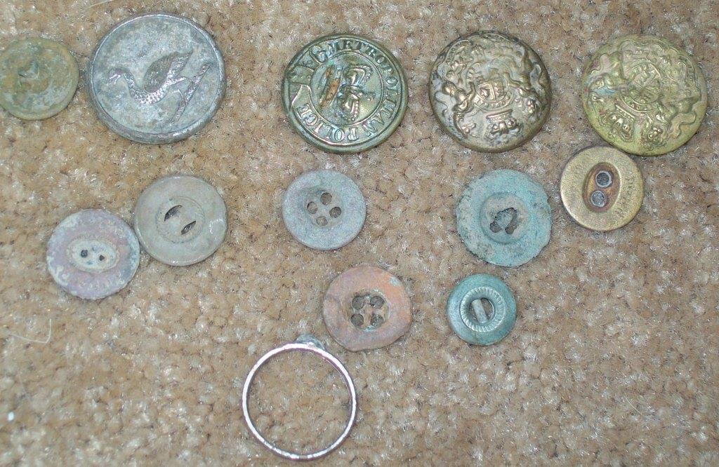 Boer War Buttons