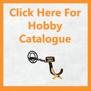hobby metal detector catalogue