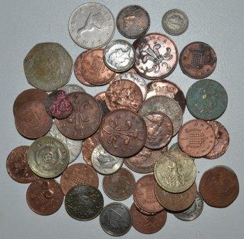 Forein coins