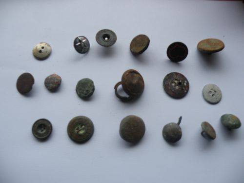 Buttons found in 2012 by my wife and myself
