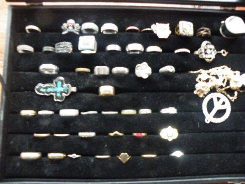 Rings found in 2012 by my wife and myself (besides the 120g silver that the jeweler melted)
