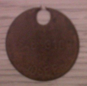 Dog Tag Disc
