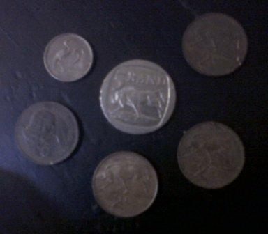 6 Coins found with Garrett GTI 2500