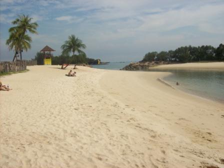 Metal detecting Sentosa Island Singapore
