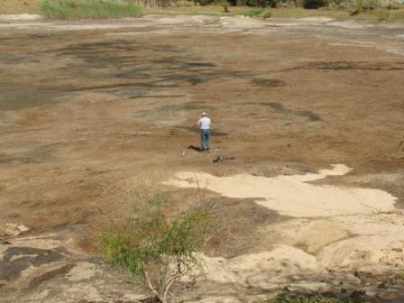 The empty dam