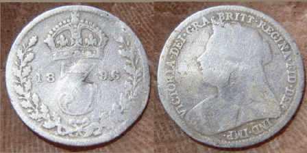 1896 tickey