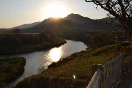 Tugela River and Spionkop