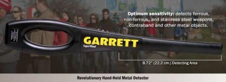 Garrett Super Wand Hand Held Detector
