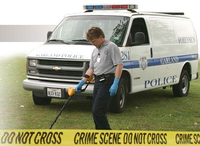 CSI 250 metal detector