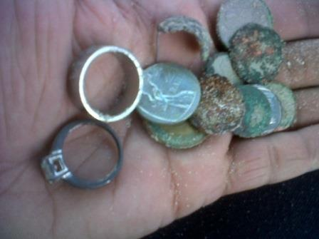 Coin finds